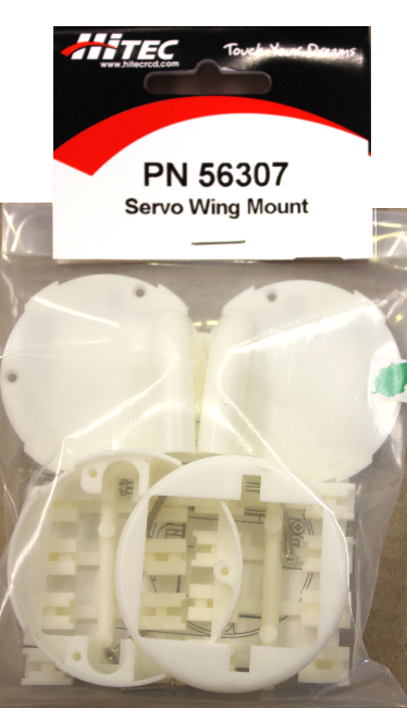 HITEC SERVO WING MOUNT SET (HS-80/81, )