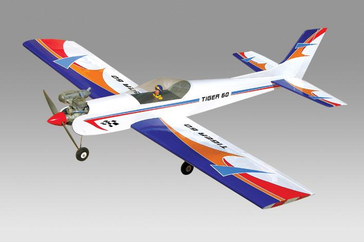 (PH066) PHOENIX TIGER 3 FOR .60 SIZE ENGINES