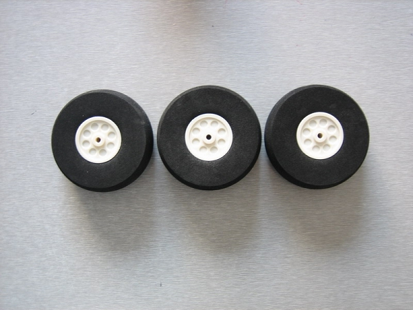 Foam Wheels D65mm xW23mm: 1pair
