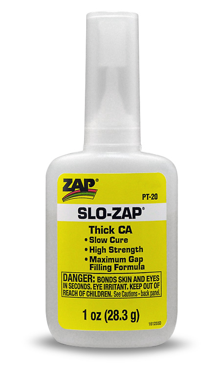 ZAP PT-20 SLO-ZAP YELLOW, 1oz(28.3g)
