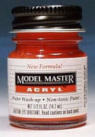 Model Master Chevy Engine Red Acryl 1/2 oz