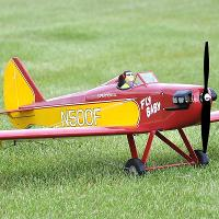 (SEA238) BOWERS FLYBABY FOR 10-15CC ENGINES (1750mm WINGSPAN)