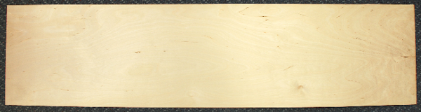 1.0mm 3 PLY 915mm X 300mm Aircraft Grade Birch Plywood