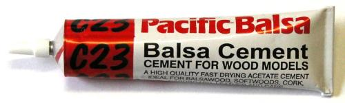 C23 Balsa Glue 50ml Tube