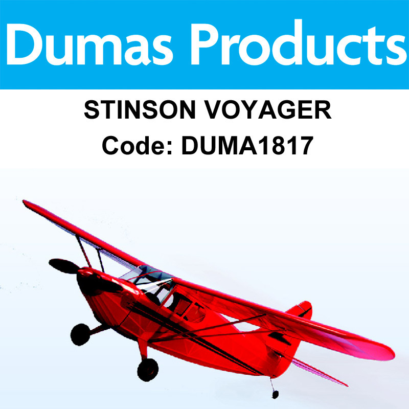 DUMAS 1817, 40 INCH STINSON VOYAGER R/C ELECTRIC POWERED