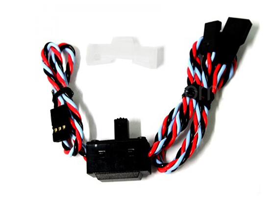 Dualsky Rx Switch Ass HD twisted wires