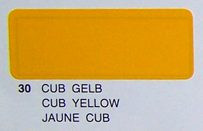 Profilm CUB YELLOW , 2mtr roll