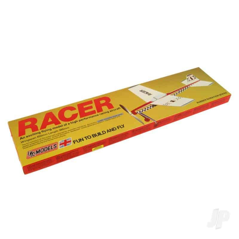 DPR Models Racer, 450mm span free flight balsa rubber powered ki