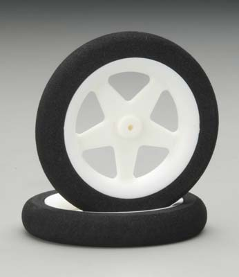 "Dubro Micro Sports Wheels 1.23"" : 1pair"