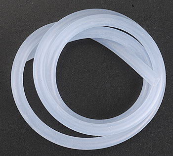 Dubro 197, Medium Silicon Fuel Tubing(Nitro) x1mt