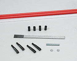 Dubro 501, Lazer Pushrods 48""