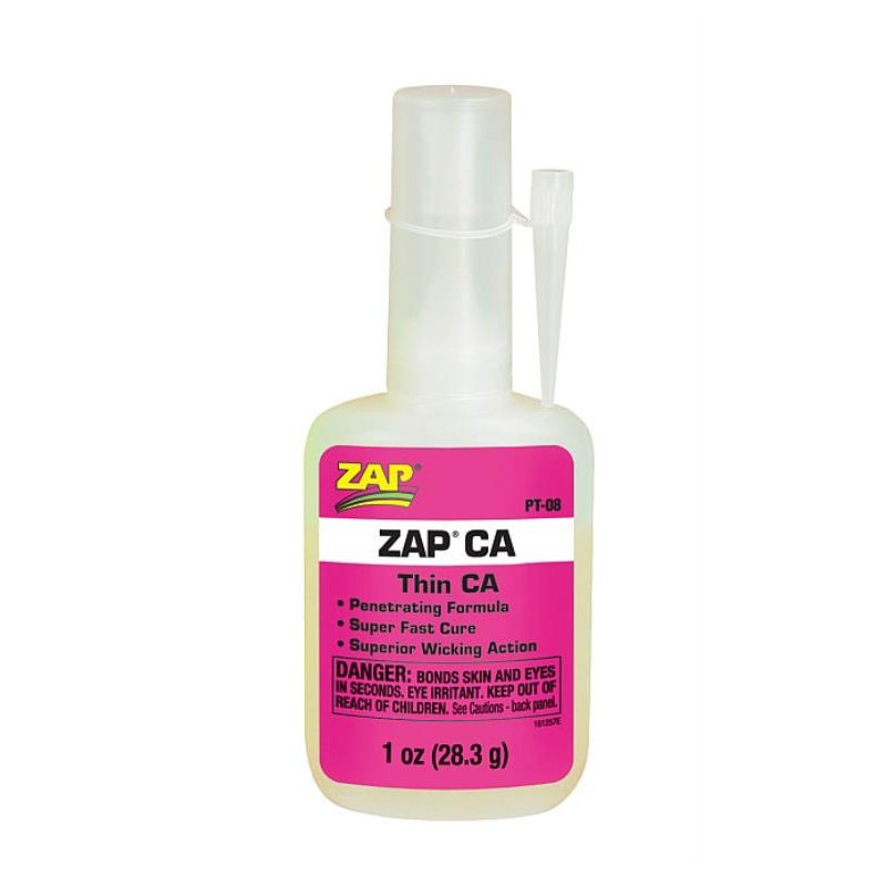 ZAP Pink CA Thin 1oz. (28.3g)