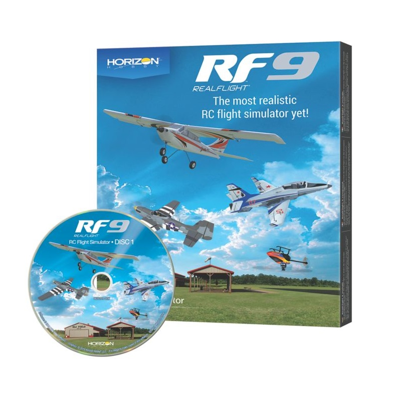 Real Flight RF9 Flight Simulator Software