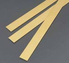 "K&S 8243, Brass Strip 0.032(0.81mm) x 3/4""(19.05mm)"