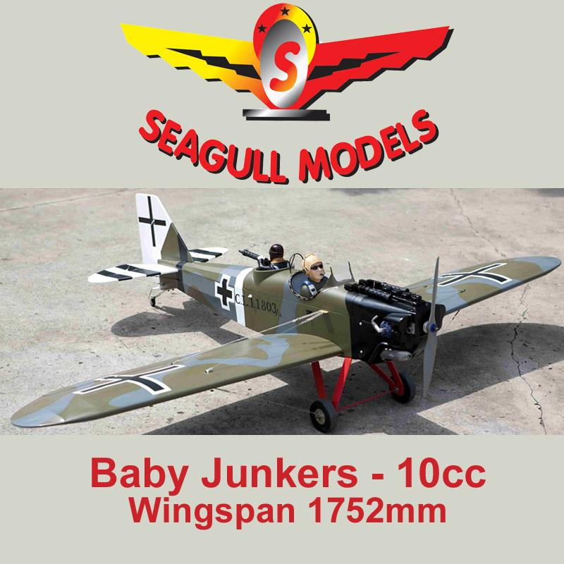 (SEA275) SEAGULL BABY JUNKERS FOR 10CC ENGINES