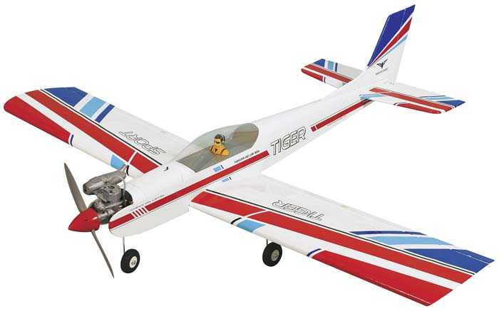 (PH036) PHOENIX TIGER 3 LOW WING SPORTS PLANE 40/46