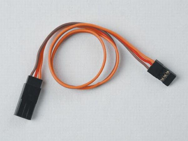 15cm, 22AWG Flat JR Servo Wire Ext x4pcs
